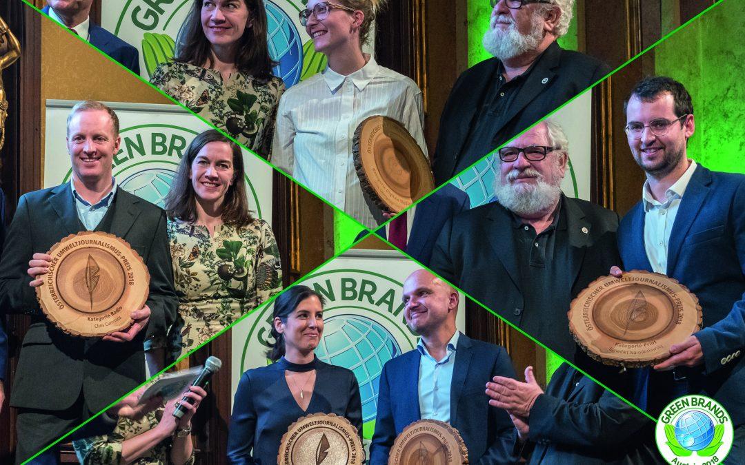 Österreichischer Umweltjournalismus-Preis 2018: Die Preisträger stehen fest